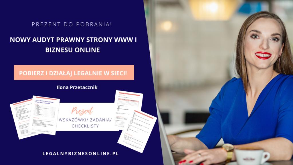 Audyt prawny biznesu online i strony www
