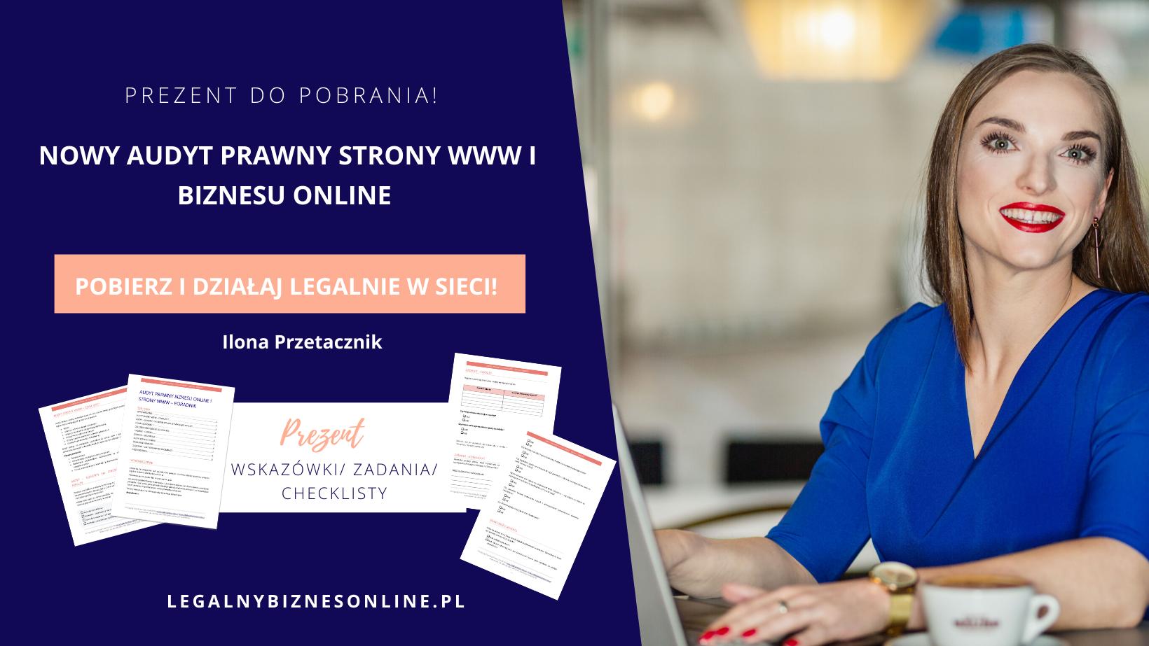 Audyt prawny biznesu online istrony www