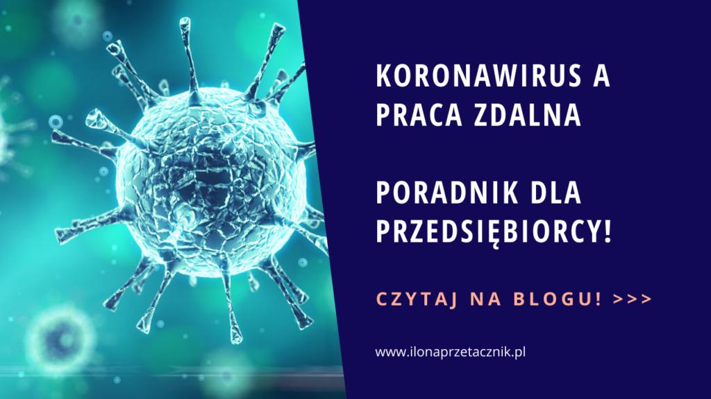 Koronawirus apraca zdalna