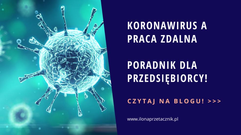 Koronawirus a praca zdalna