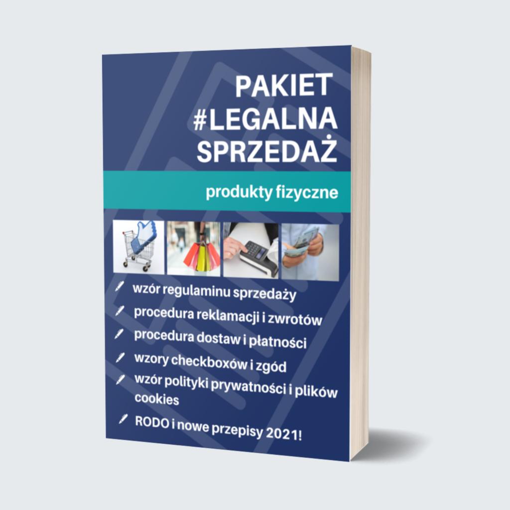 legalna sprzedaż online produkty fizyczne