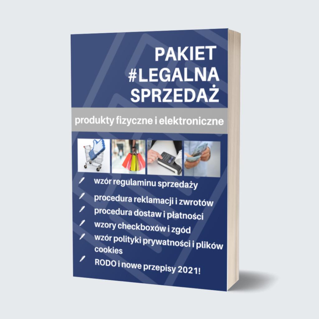 legalna sprzedaż online produkty fizyczne ielektroniczne